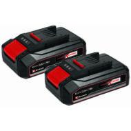 Einhell PXC-Twinpack akkumulátor, 2x18V, 2.5Ah