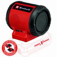 Einhell PXC TC-SR 18 Li BT - Solo akkus hangszóró, MP3, 85dB (akku és töltő nélkül)