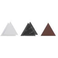 Einhell tépőzáras háromszög csiszolókorong készlet, P80, 5db