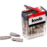 KWB Basic S2 PH2 bit, standard csavarokhoz, 25mm, 25db
