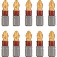 KWB TITAN MRG torziós behajtó bit PH2, 25mm, 10db