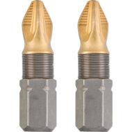 KWB TITAN MRG torziós behajtó bit PZ2, 25mm, 2db