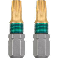 KWB TITAN TORX torziós behajtó bit T30, 25mm, 2db
