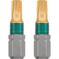KWB TITAN TORX torziós behajtó bit T10, 25mm, 2db