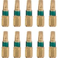KWB DIAMOND TQ60 TORX, gyémánt bit, T25, 25mm, 10db