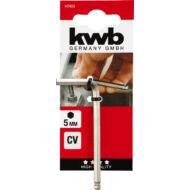 KWB Profi HEXAGON gömbvégű imbuszkulcs, 4.0mm