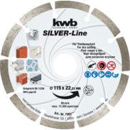 KWB Profi Diamond vágótárcsa 180x22x2.5mm