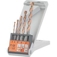 KWB Premium Easy Cut hengeres fúrószár készlet, 5 részes