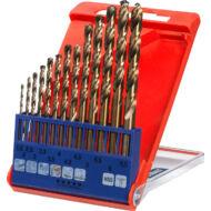 KWB Profi hengeres spirálfúrószár készlet, 1.5-6.5mm+3.3-4.2mm, 13darabos