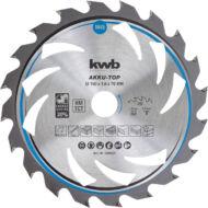 KWB Thin-cut körfűrészlap, 190x30mm, 30 fogas