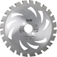 KWB Akku Top keményfém körfűrészlap, 150x16x1mm, fogak: 20