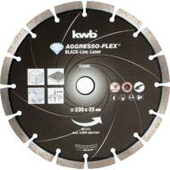 KWB PROFI BLACK-LINE szegmentált gyémánt vágókorong 230x22mm