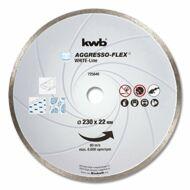 KWB PROFI WHITE-LINE szegmentált gyémánt vágókorong 230x22mm