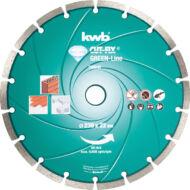 KWB PROFI GREEN-LINE szegmentált gyémánt vágókorong 230x22mm