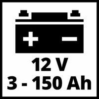Einhell CE-BC 6 M akkutöltő, 6A