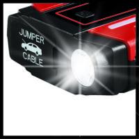 Einhell CE-JS 8 hordozható indításrásegítő és töltő, 400A, 7500mAh