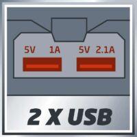 Einhell TE-CP Li USB-Solo USB töltő