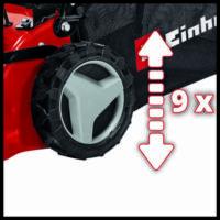 Einhell GC-PM 46/4 S benzines fűnyíró, 2kW, 46cm