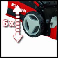 Einhell GC-PM 56/2 S HW benzines fűnyíró, önjáró, 173cm³, 2.8kW, 56cm