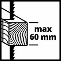 Einhell TC-JS 60/1 dekopírfűrész, 400W