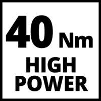Einhell TE-CD 18/40 Li+69 akkus fúró-csavarozó+69 kiegészítő (akkuval és töltővel)
