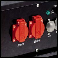Einhell TC-PG 55/E5 áramfejlesztő, 400V, 5500W