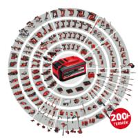 Einhell PXC GE-CM 36/47 HW Li akkumulátoros fűnyíró, 2x18V, 75L, 2x4.0Ah
