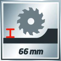 Einhell TH-CS 1400/1 körfűrész, 190mm, 1400W