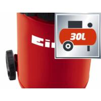 Einhell TC-AC 200/30/8 OF álló kompresszor, 1.1kW, 30L, 8bar