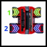 Einhell Power X-Quattrocharger négyes akkutöltő, 18V, 4A