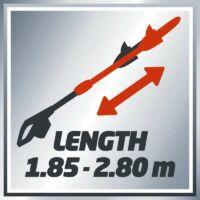 Einhell GC-EC 750 T elektromos magassági ágvágó láncfűrész