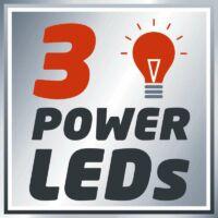 Einhell PXC TE-CL 18 Li akkus LED lámpa, 270lm, 18V, akku és töltő nélkül