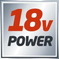 Einhell TE-OS 18 Li Solo akkus rezgőcsiszoló (akku és töltő nélkül) Power X-Change