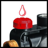 Einhell GC-WW 1045 N házi vízmű, 1050W, 4500L