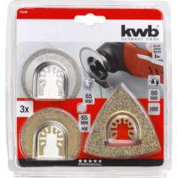 KWb csempejavító készlet 3db-os