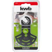 KWB multifűreszlap 80mm (fa-műanyag) akkutop multifűrészhez