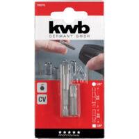 """KWB Profi adapter készlet, 1/4"""", 30-50mm, 2darabos"""