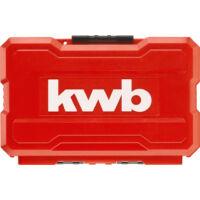 KWB Impact bitkészlet, 25-50mm, 35 darabos