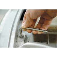 KWB Profi HEXAGON gömbvégű imbuszkulcs, 2.0mm