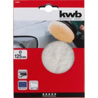 KWB Profi polírozó korong, báránygyapjú, 125mm