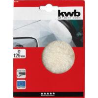 KWB Profi polírozó korong, szövet-gyapjú, 125mm
