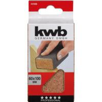 KWB parafa kézi csiszolótömb 40x60x100mm