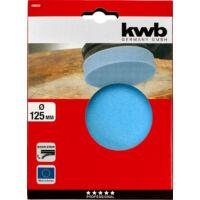 KWB tépőzáras polírozó szivacs, 125mm