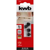 KWB Profi csapolási fúrat másoló készlet, 4darabos, 6mm
