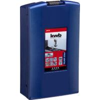 KWB Silver Star HSS spirál fúrókészlet, 1.0-13mm, 25 részes