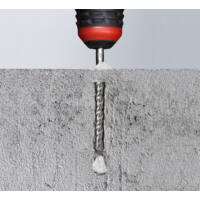KWB Profi SDS Plus HB44 két élű beton fúrószár, 160/100x5.5mm