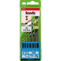 KWB Premium HI-NOX HSS-M2 fémfúrószár készlet, 6 darabos