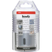 KWB Premium Diamant koronafúró, M14, 15x25x60mm