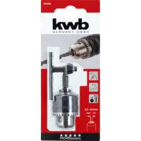 """KWB Profi Hexagon befogású bordázott fúrótokmány, 1/4"""",  0.5-6.5mm"""