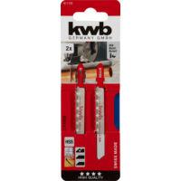 KWB Profi HCS szúrófűrészlap, finom, 77x50mm, 2db